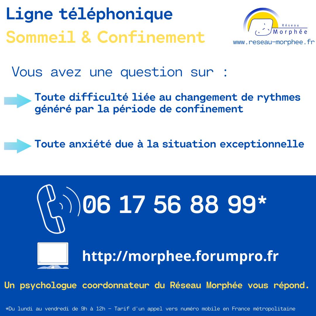 Hotline Sommeil & confinement